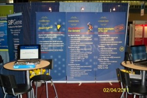Commetrex was ready for the influx of traffic at ITEXPO East 2011.