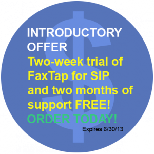 FaxTap Offer