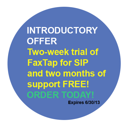 FaxTap Intro Offer